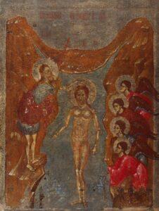 Богоявление.Псковская школа.Нач.14 века