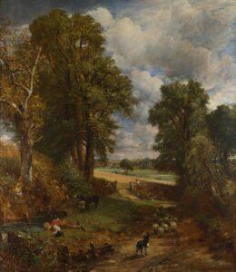 Д.Констебл.Хлебное поле.1826