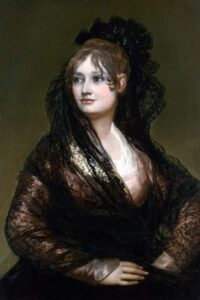 Ф.Гойя.Портрет И. де Порсель.1806