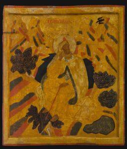 Илия Пророк в пустыне.Нач.16 века