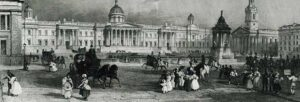 Лондонская национальная галерея в конце 19-го века