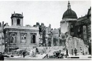 Лондонская национальная галерея во время войны