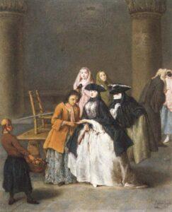 П.Лонги.Гадалка в Венеции.1756