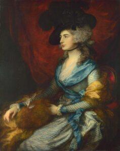 Т.Гейнсборо.Портрет Сары Сиддонс.1785