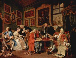 У.Хогард.Модный брак.Брачный контракт.1743