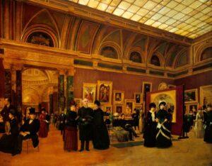 в Лондонской национальной галерее в конце 19-го века