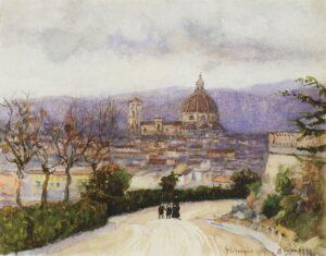 В.Суриков.Флоренция.1884