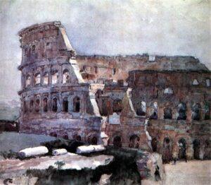 В.Суриков.Колизей.1884
