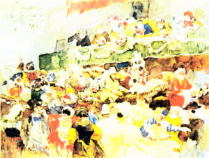 В.Суриков.Римский карнавал.1884