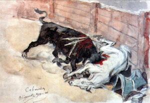 В.Суриков.Севилья.Бой быков.1910