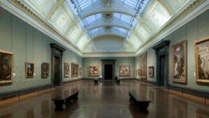 зал в Лондонской национальной галерее
