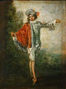 А.Ватто. Равнодушный.1717