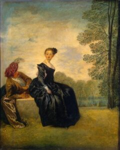 А.Ватто.Капризница.1718