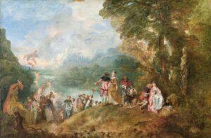А.Ватто.Паломничество на остров Киферу.1717