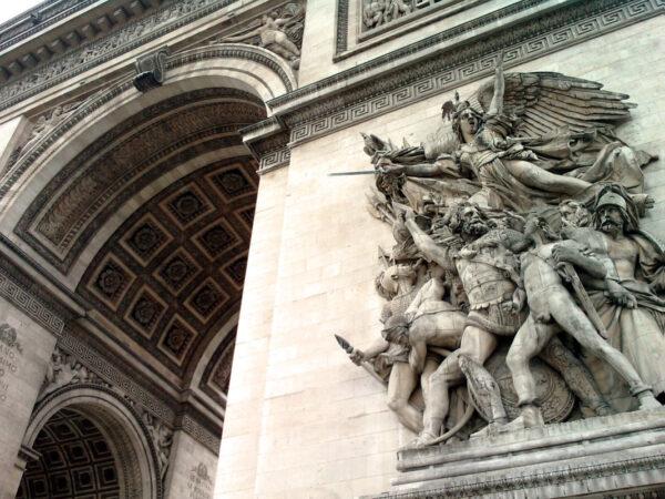 Франсуа Рюд.Выступление добровольцев в 1792 году (Марсельеза) на Триумфальной арке.1836-