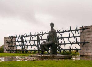 Фриц Кремер. Скульптура «О, Германия, скорбная Мать», 1960-1967