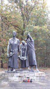 Fritz Cremer Фриц Кремер. Скульптурная группа для мемориала в концлагере Равенсбрюк,1958-1965