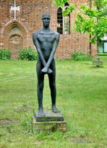 Fritz Cremer Фриц Кремер.Скульптура «Борец за свободу».1947