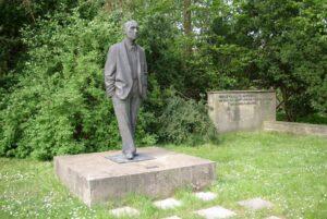 Фриц Кремер.Памятник Иоганнес Бехер.1960