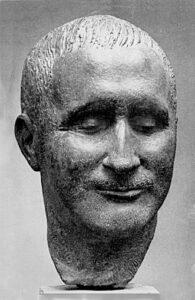 Фриц Кремер.Портрет Б.Брехта.1957