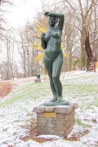 Фриц Кремер.Скульптура Большая Ева,1950