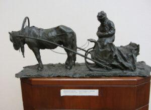 Скульптура.П.Трубецкой.Московский извозчик.1898
