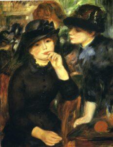 Ренуар.Две девушки в черном.1881