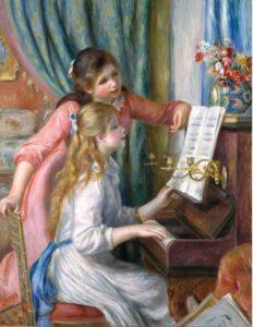 Ренуар.Две молодые девушки за фортепиано.1892