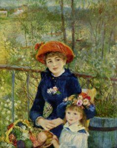 Ренуар.Две сестры.1881