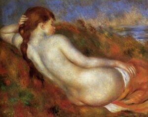 Ренуар.Лежащая обнаженная.1883