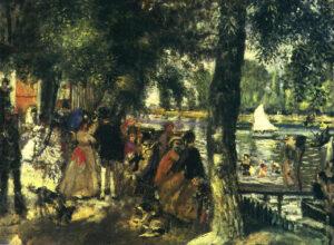 Ренуар.Лягушатник (Купание на Сене).1869