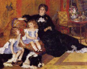 Ренуар.Мадам Жорж Шарпантье и ее дети.1878