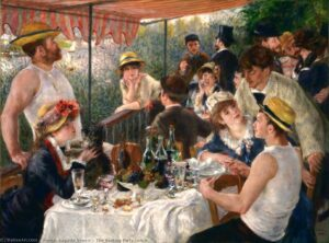 Ренуар.Обед на лодочной вечеринке.1880-1881