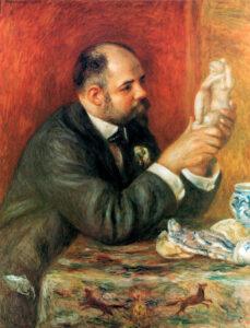 Ренуар.Портрет Амбруаза Воллара.1908