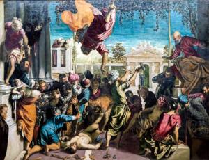 Тинторетто.Чудо св.Марка.1548