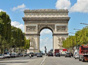Триумфальная арка в Париже.1806-1811