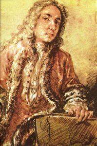 Жан Антуан Ватто. Автопортрет. 1721