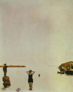 Сальвадор Дали.Белое безмолвие.1936 г.
