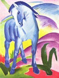 Ф.Марк.Синий конь.1911