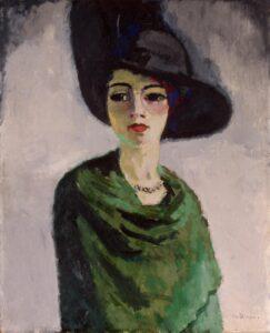 К.Ван Донген.Женщина в черной шляпе.1908