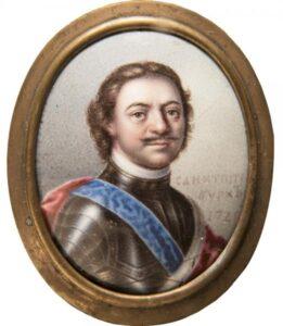 Мусикийский Г. С. Портрет Петра I. 1720 г