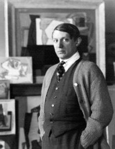Пабло Пикассо. Фото Man Ray. 1922 г.