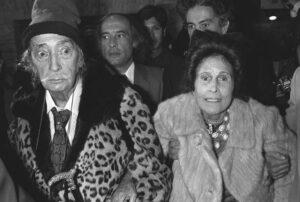 Сальвадор Дали и Гала.1980-е г.