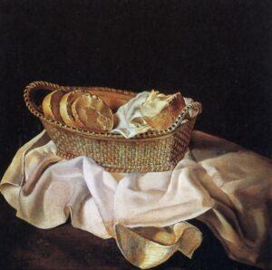 Сальвадор Дали.Корзина с хлебом. 1926 г.