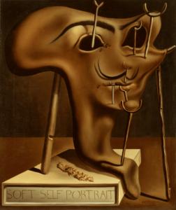 Сальвадор Дали.Мягкий автопортрет с жареным беконом.1941 г.