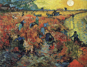 В.Ван Гог.Красные виноградники в Арле. 1888 г.