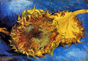 В.Ван Гог. Два срезанных подсолнуха III.1887 г