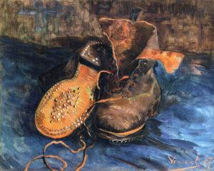 В.Ван Гог.Пара обуви (Башмаки).1887 г.