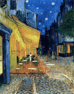В.Ван Гог.Ночная терраса кафе.1888 г.