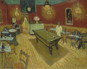 В.Ван Гог.Ночное кафе. 1888 г.